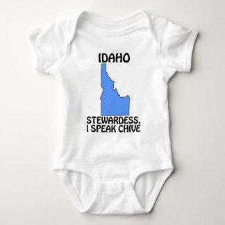 アイダホ-スチュワーデス、私はアサツキを話します ベビーボディスーツ