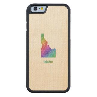 アイダホ CarvedメープルiPhone 6バンパーケース