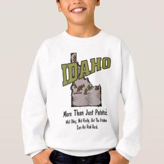 アイダホID米国のモットーの~多くよりちょうどポテト スウェットシャツ