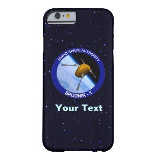 アイダホSpudnikの衛星代表団パッチ Barely There iPhone 6 ケース