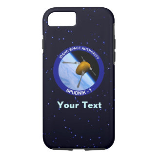 アイダホSpudnikの衛星代表団パッチ iPhone 8/7ケース