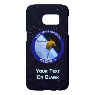 アイダホSpudnikの衛星代表団パッチ Samsung Galaxy S7 ケース