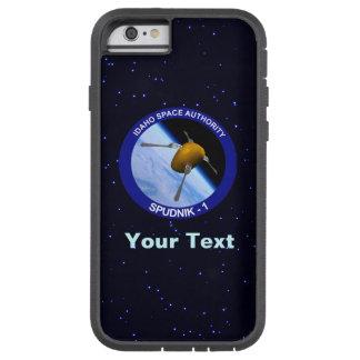 アイダホSpudnikの衛星代表団パッチ Tough Xtreme iPhone 6 ケース