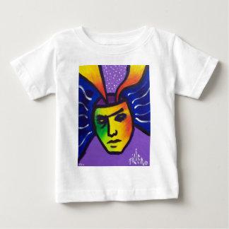 アイディアの十分の頭部 ベビーTシャツ