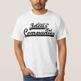 """""""アイディア会社""""のTシャツではなくに忠節 Tシャツ"""