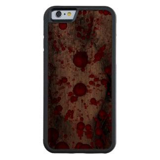 アイデンティティの死 CarvedウォルナッツiPhone 6バンパーケース