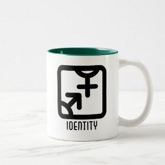 アイデンティティ: 両方マグ ツートーンマグカップ