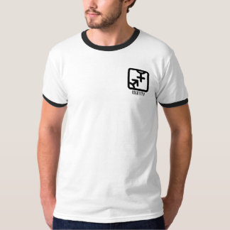 アイデンティティ: 両方軽いワイシャツを懐に入れて下さい Tシャツ