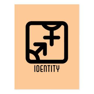 アイデンティティ: 両方軽い郵便はがき ポストカード