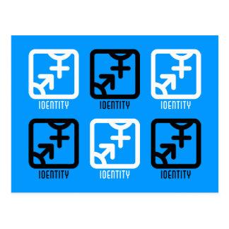 アイデンティティ: 両方郵便はがき ポストカード