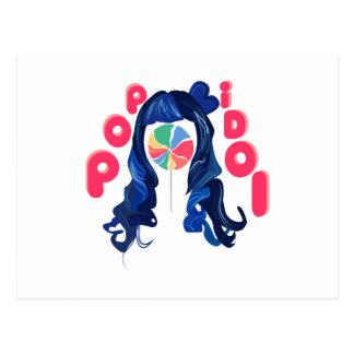アイドル歌手 ポストカード