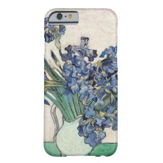 アイリスのゴッホの花束 iPhone 6 ベアリーゼアケース