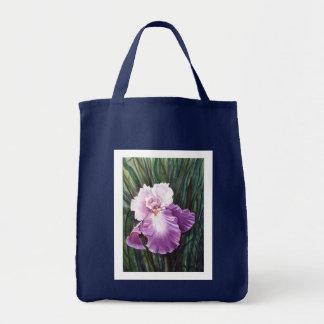 アイリス紫色 トートバッグ