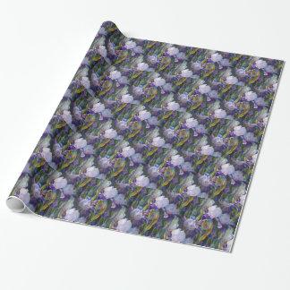 アイリス花園の包装紙 ラッピングペーパー