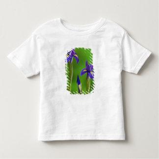 アイリス花 トドラーTシャツ
