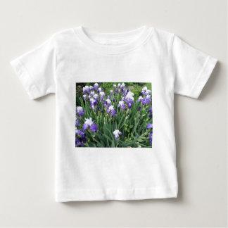 アイリス花 ベビーTシャツ
