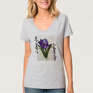 アイリス- Tシャツ