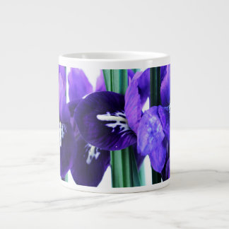 アイリスReticulataのジャンボマグ ジャンボコーヒーマグカップ