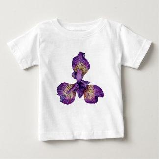 アイリスSibericaの青い花 ベビーTシャツ