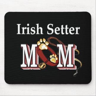 アイリッシュセッターのお母さんのギフト マウスパッド