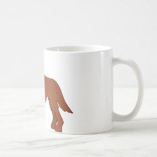 アイリッシュセッター犬 コーヒーマグカップ
