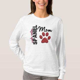 アイリッシュ・ウォーター・スパニエルのお母さん2 Tシャツ