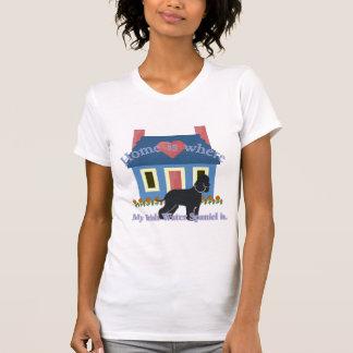 アイリッシュ・ウォーター・スパニエルの家はあります Tシャツ