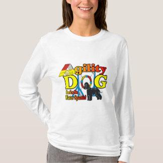 アイリッシュ・ウォーター・スパニエルの敏捷のギフト Tシャツ