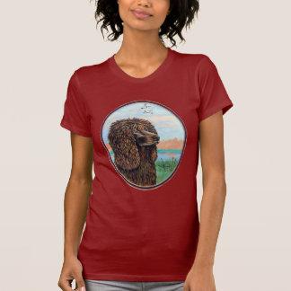 アイリッシュ・ウォーター・スパニエルのTシャツ Tシャツ
