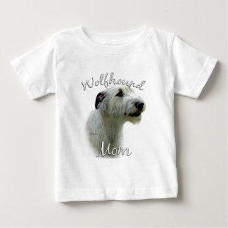 アイリッシュ・ウルフハウンドのお母さん2 ベビーTシャツ