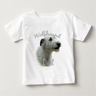 アイリッシュ・ウルフハウンドのパパ2 ベビーTシャツ