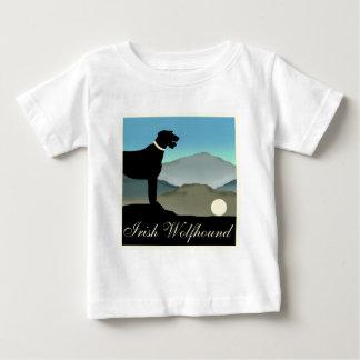 アイリッシュ・ウルフハウンドの景色 ベビーTシャツ