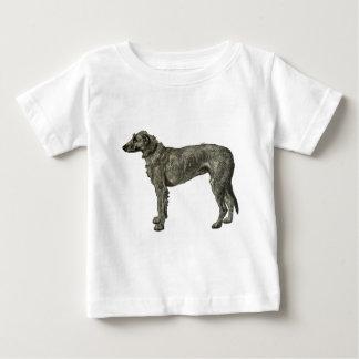 アイリッシュ・ウルフハウンドのTシャツ ベビーTシャツ
