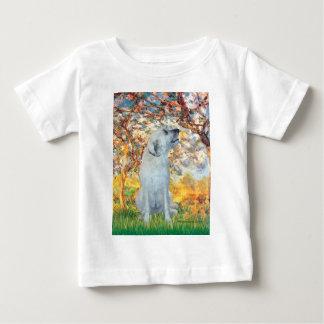 アイリッシュ・ウルフハウンド4 -春 ベビーTシャツ