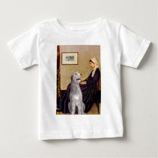 アイリッシュ・ウルフハウンド6 -ホイスラーの母 ベビーTシャツ