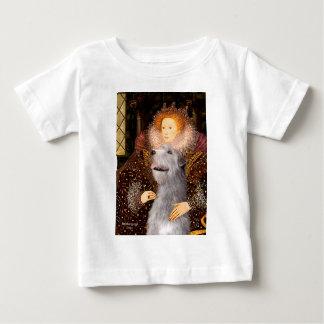 アイリッシュ・ウルフハウンド6 -女王 ベビーTシャツ