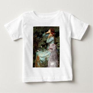 アイリッシュ・ウルフハウンド6 -着席するオフェリア ベビーTシャツ