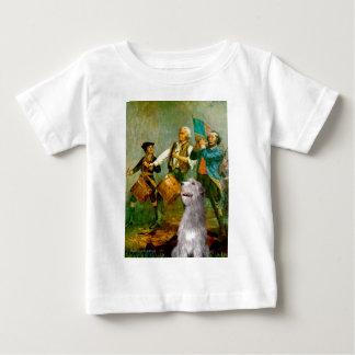 アイリッシュ・ウルフハウンド6 - 76の精神 ベビーTシャツ