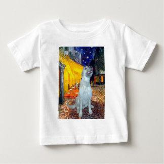アイリッシュ・ウルフハウンド-台地のカフェ ベビーTシャツ