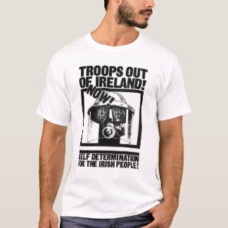 アイルランドからのイギリスの軍隊 Tシャツ