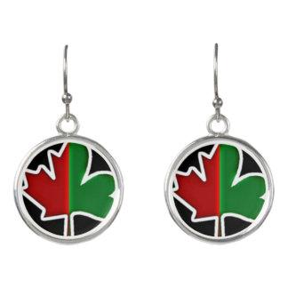アイルランドかカナダのイヤリング イヤリング