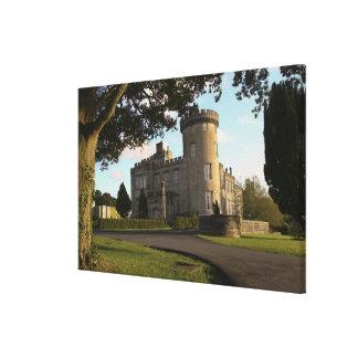 アイルランドでは、Dromolandの城の通用口 キャンバスプリント