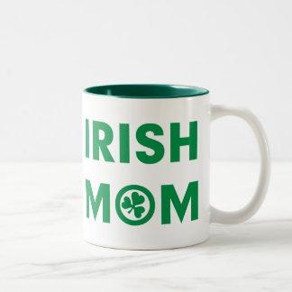 アイルランドのお母さんのギフト ツートーンマグカップ