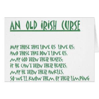 アイルランドのことわざ カード
