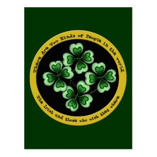 アイルランドのことわざ ポストカード