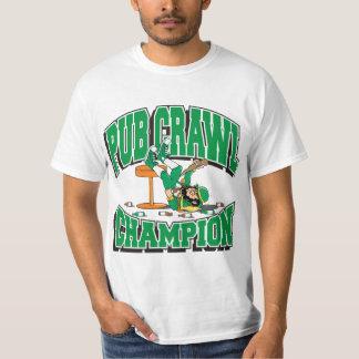 アイルランドのはしご酒のチャンピオン Tシャツ
