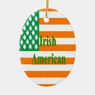 アイルランドのアメリカ人 セラミックオーナメント