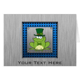 アイルランドのカエル; 金属一見 カード
