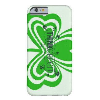 アイルランドのクローバーの緑の場合 BARELY THERE iPhone 6 ケース