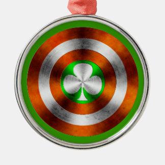 アイルランドのクローバー メタルオーナメント